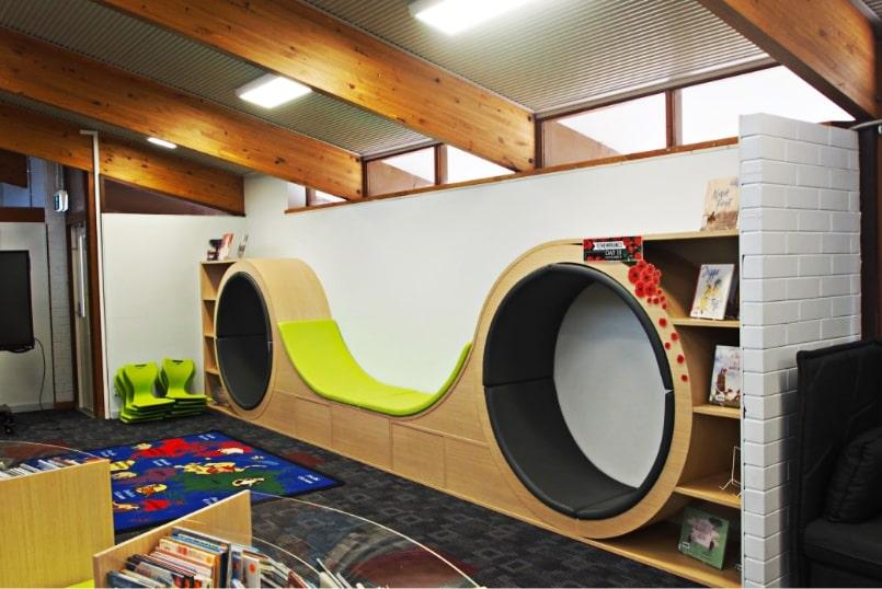 Fry Library - Custom Furniture